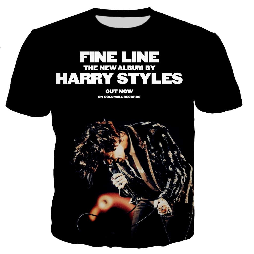 Harry Styles New Cool 3D Printed T-shirts