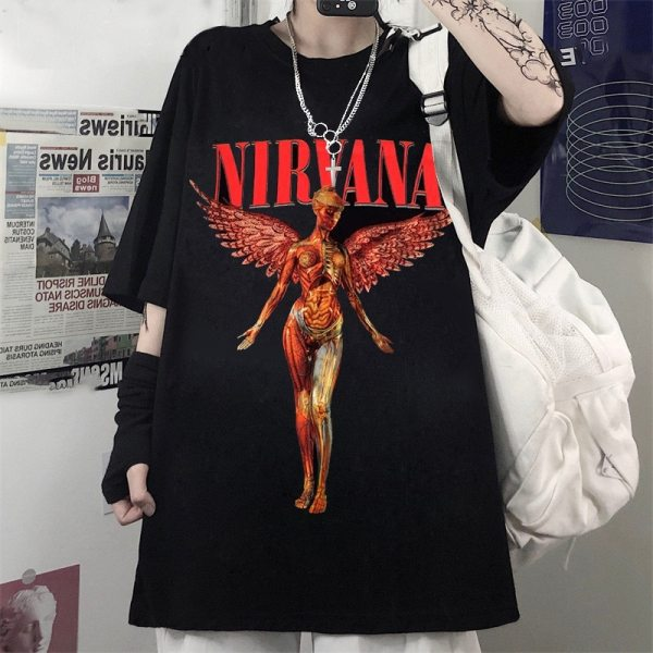 Harry Styles Nirvana Kurt T shirt