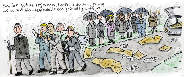 Clare in the Community cartoon by Harry Venning