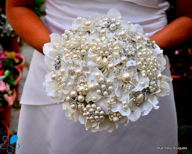 Diy Wedding Bouquet With Artificial Flowers On Make Your Own Silk 13