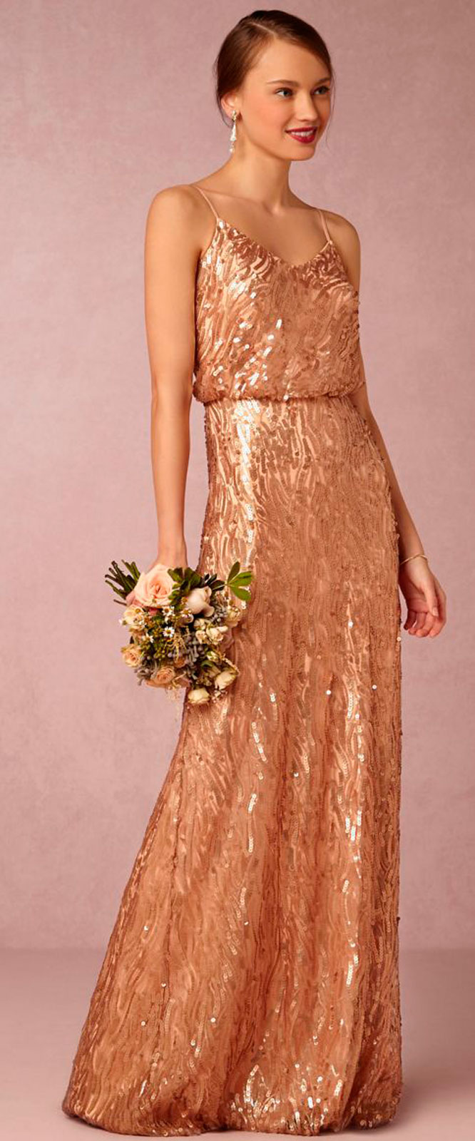 Harsanik Rose Gold And Copper Wedding Trend