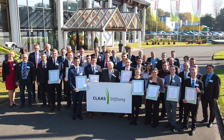 Gruppenfoto CLAAS-Foundation