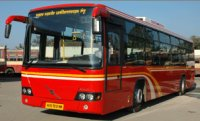 Pune Bus Rapid Transport (BRT) Bus