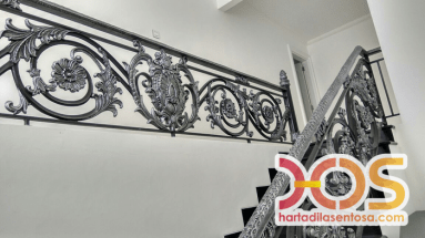 Stair Case Wrought Iron (1)