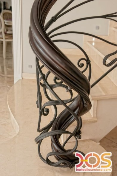 Stair Case Wrought Iron (28)