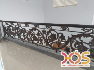 Stair Case Wrought Iron (3)
