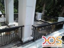 Railing Balkon Besi Tempa Klasik Mewah Modern (93)