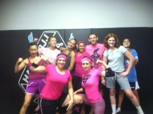 Team Hart Martial Arts, Breast Cancer Awareness. Pink Day! :)