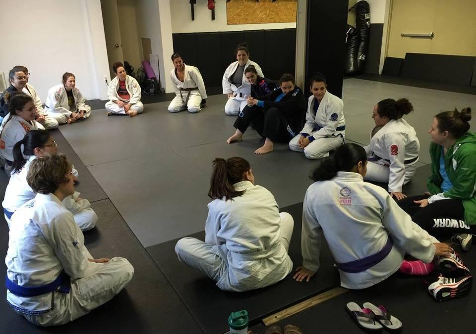 Conshohocken Women's Jiu Jitsu training at Hart BJJ, Boxing and Mixed Martial Arts, is back in action!