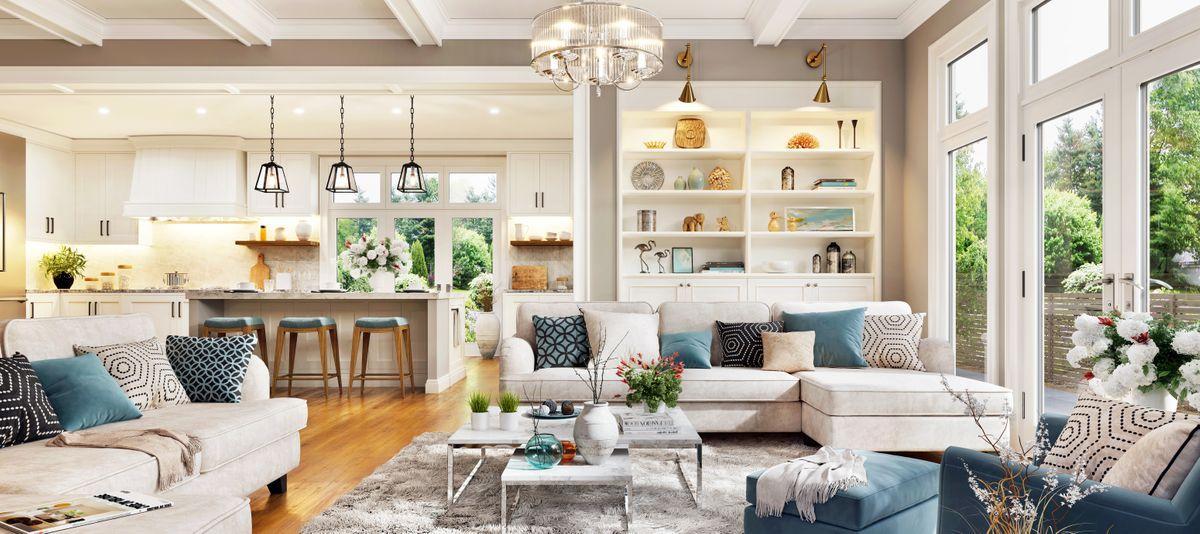 Come arredare la cucina e il soggiorno. Open Space Moderno Tre Idee Per Arredarlo Harte