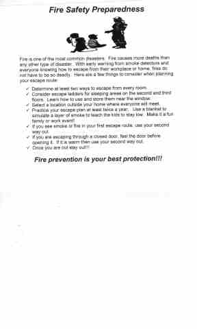 Fire Safety 001