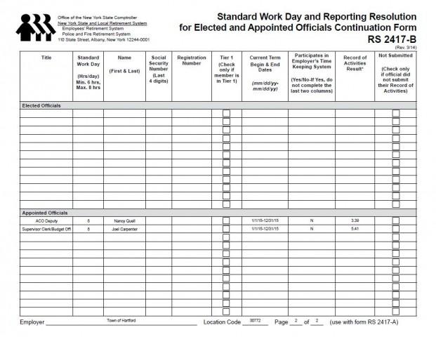 Standard Work Day 2