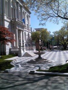 Muncipal Building Plaza