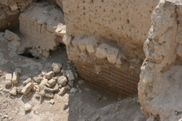 4654 year old brick in Jericho
