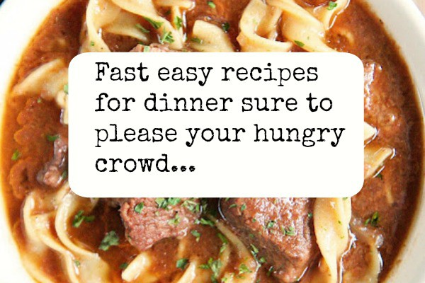 Best Fast Easy Recipes For Dinner Found On Facebook 2017