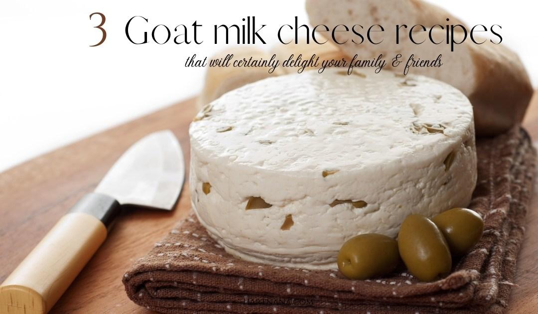 Goats Milk Cheese Recipes – How to Make Feta The Easy Way