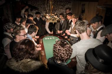 Peaky Blinders in Café de Concurrent in 2018