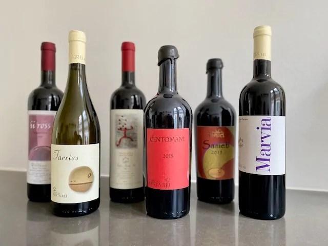 Wijnen podere panta rei