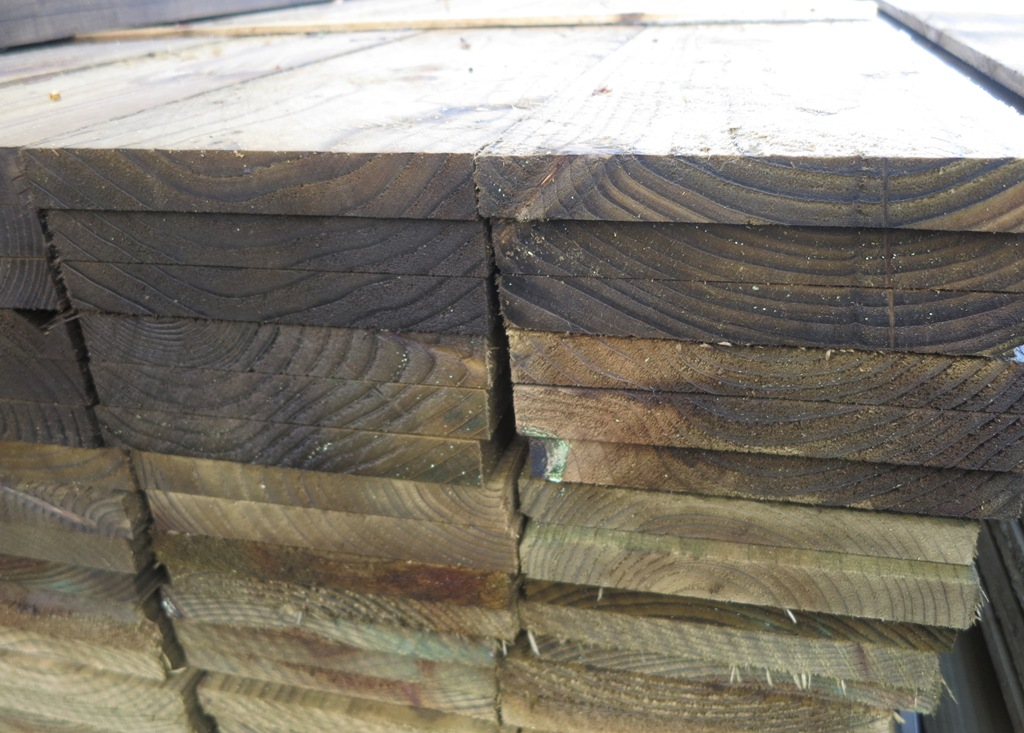 19mm X 150mm Sawn Amp Treated Softwood Hartwells Fencing