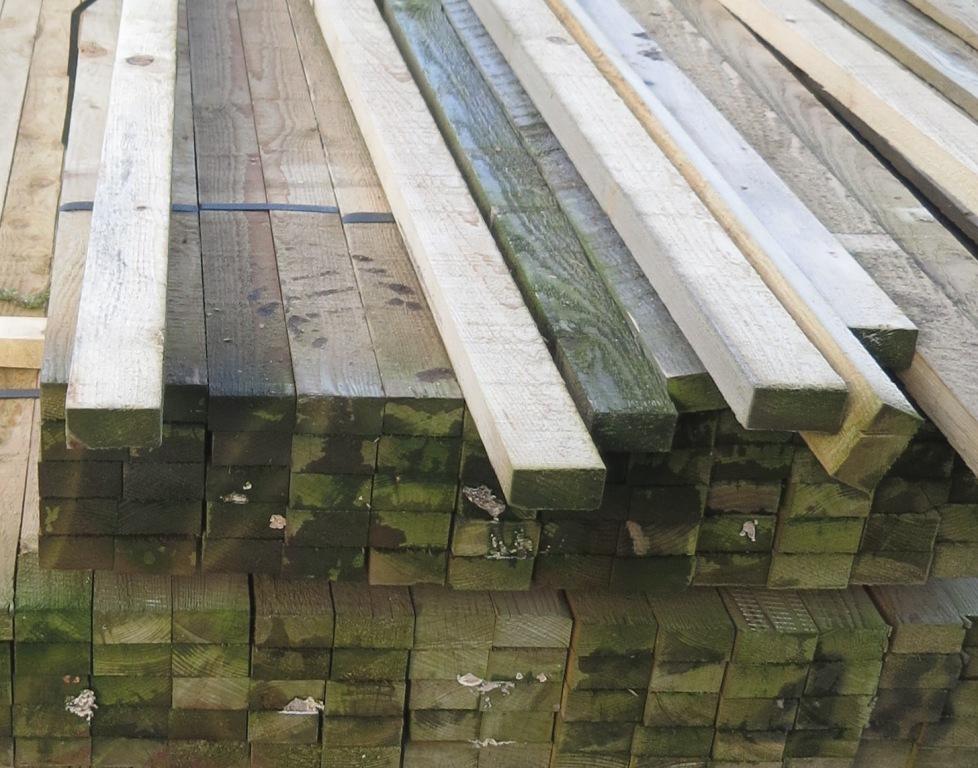 25mm X 50mm Sawn Amp Treated Softwood Hartwells Fencing