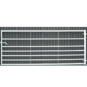 Galvanised 7 rail steel gate