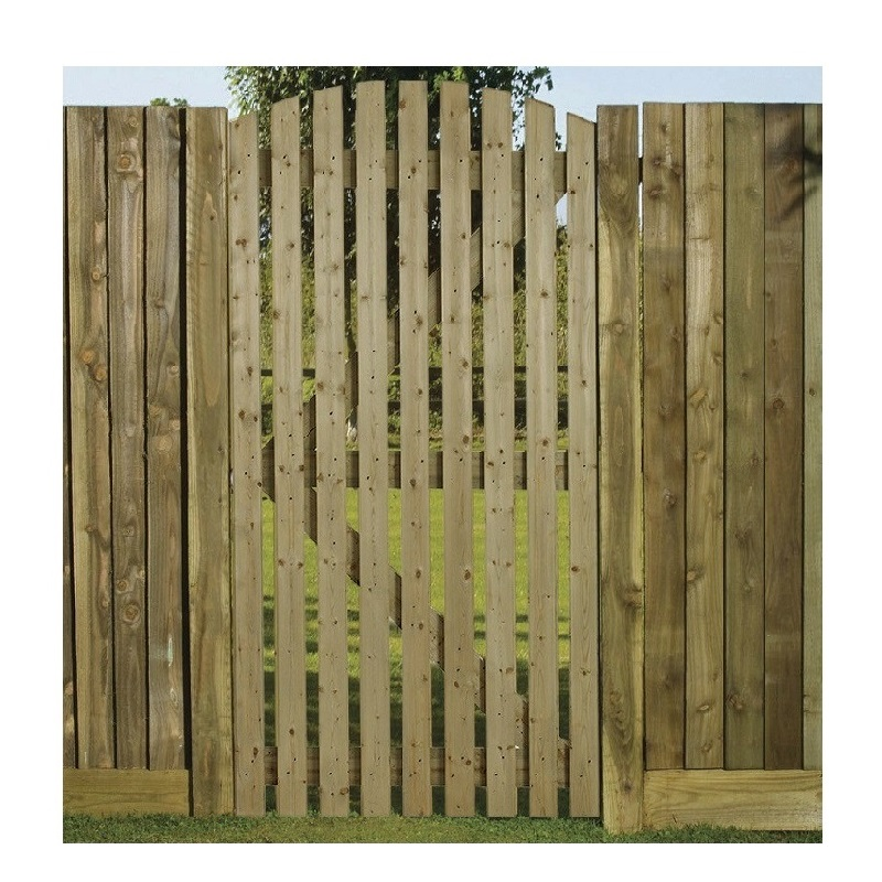 Orchard Curved Top Gate