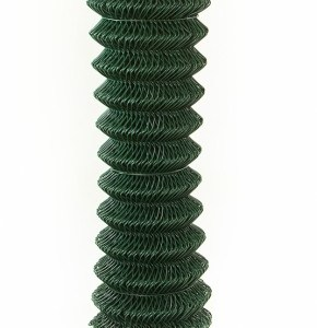 Green Coated Chain Link