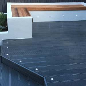 Composite Longlife Decking - Charcoal Decking Boards