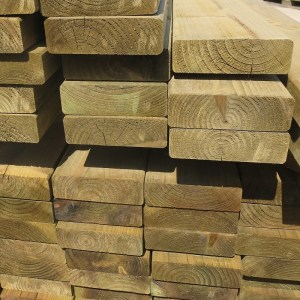 47mm x 150mm planed and eased timber