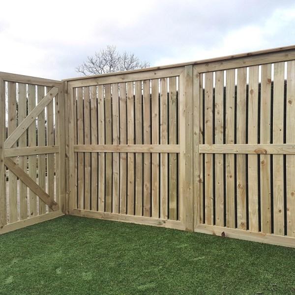Lurig Panel erected vertically