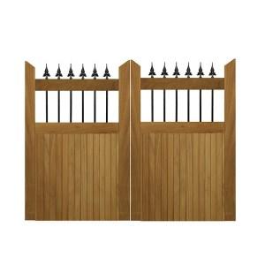 Hemington gates-Iroko hardwood