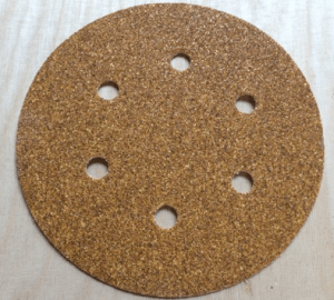 150mm 6 Hole 60 Grit