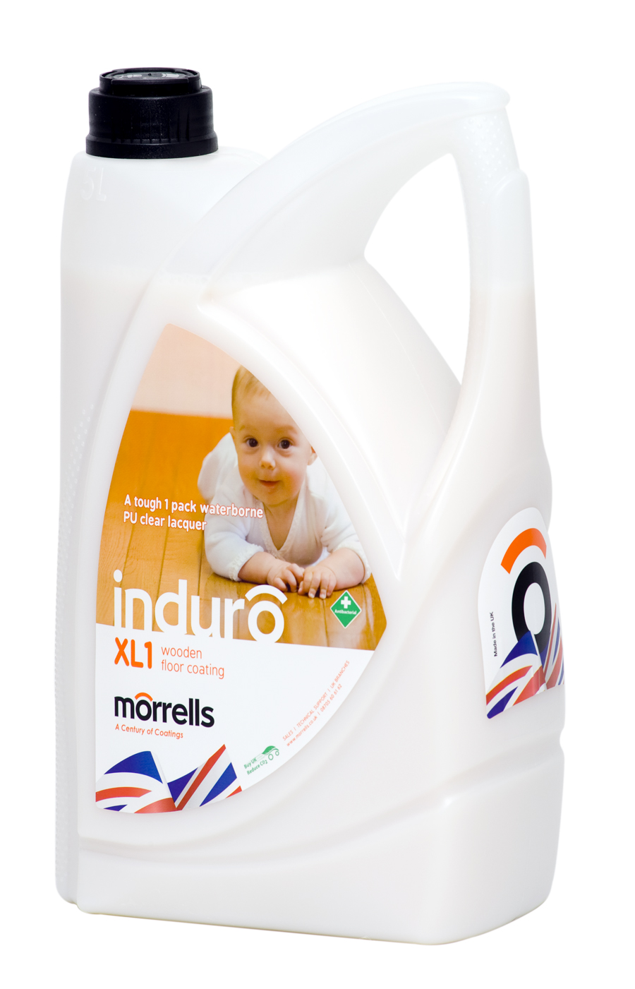Induro Xl1 Anti Bacterial Water Based Floor Lacquer
