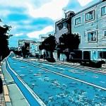 世田谷区の某道路