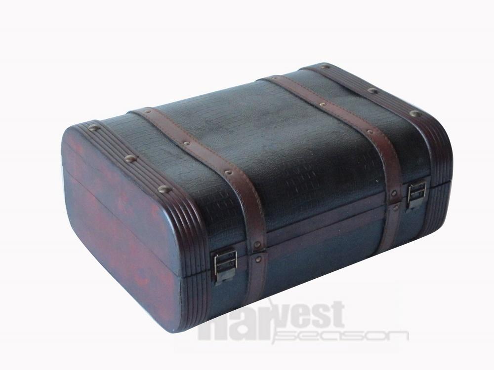 Antique Wooden Suitcase HS13046 S2 China Manufacturer