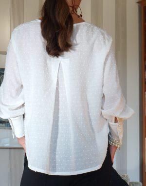 cotton blouse white 4