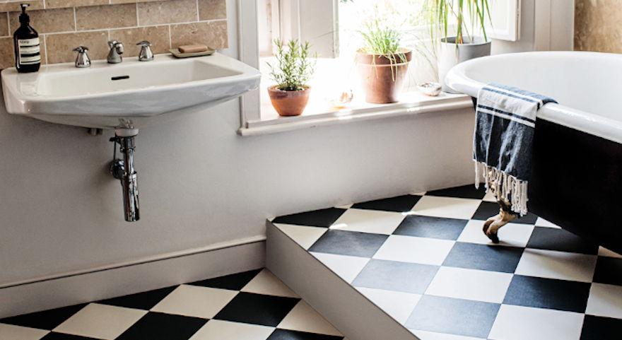 bathroom flooring ideas luxury vinyl