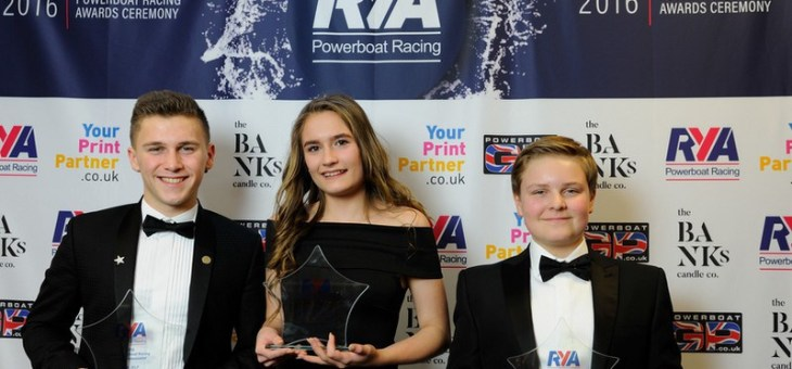 2016 RYA Powerboat Racing Youth Ambassador