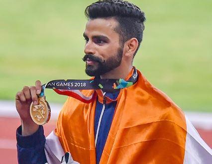 एशियाई खेल-2018 में अरपिंद्र सिंह ने 48 साल बाद भारत को ट्रिपल जंप में दिलवाया गोल्ड