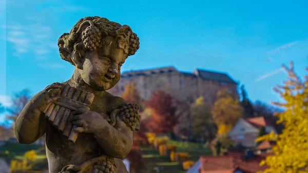 Putte im Schlosspark Blankenburg