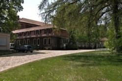 Bild: Das Schloss zu Langenstein bei Halberstadt.