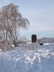 Bild: Auf der Rabenskuppe bei Mansfeld.