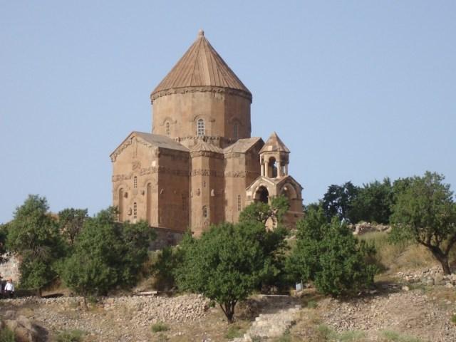Van Akdamar Adası'ndaki Rum Ortodoks Kilisesi