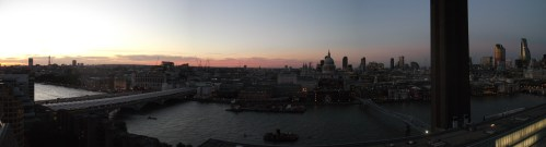 London from the Tate Modern