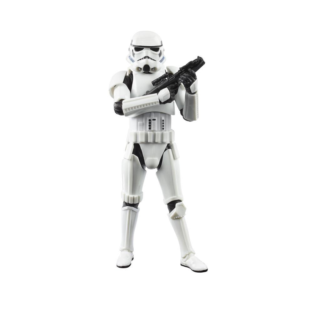 Star Wars The Black Series Imperial Stormtrooper Toy 6 Inch Scale The Mandalorian Figure Kids Ages 4 And Up Star Wars