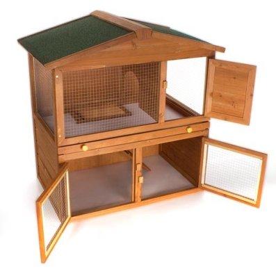 Der Happypet Hasenstall Kaninchenstall WRB101 - Den richtigen Kaninchenstall kaufen.