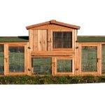 ► Zooprimus Kaninchenstall XXL & Hasenstall XXL – Stall für Außenbereich