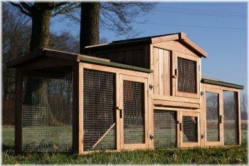 Der Zooprimus Kaninchenstall XXL & Hasenstall XXL Vergleich. XXL Hasenstall kaufen und XXL Kaninchenstall kaufen.