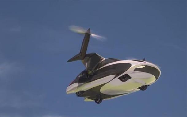 اختبار سيارة طائرة ذاتية القيادة نهاية العام