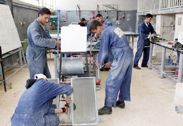 بدء تقديم طلبات الالتحاق ببرامج مؤسسة التدريب المهني